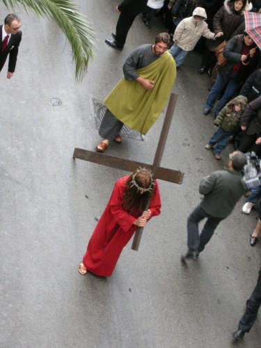 Via Crucis 2008 Gesù al Calvario - Borgetto (3892 clic)