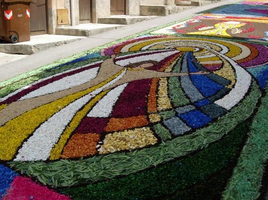 Infiorata Corpus Domini 2007  - Borgetto (8218 clic)