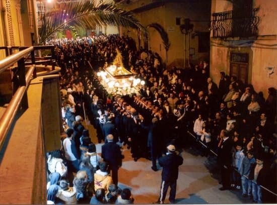Processione Venerdì  Santo a Borgetto (7385 clic)