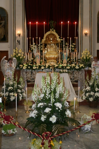 Interno della Chiesa Madre - Borgetto (4979 clic)