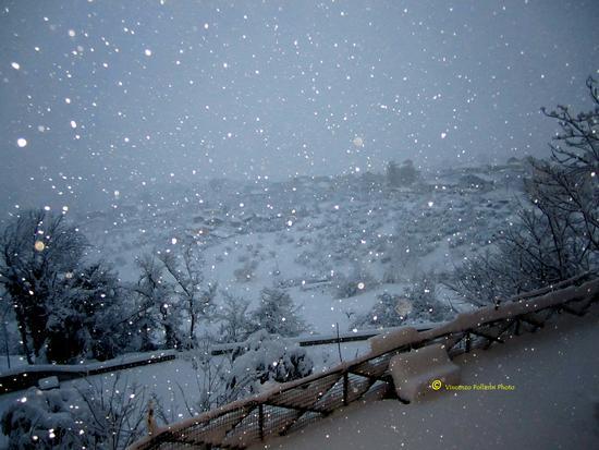 Tramonto con neve - Chieti (4329 clic)