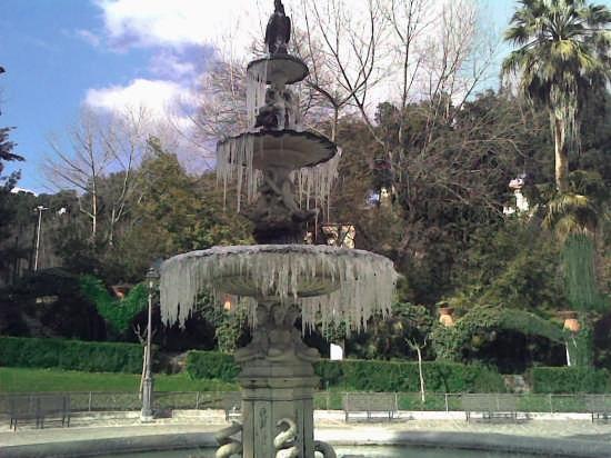 Villa Comunale Fontana - Chieti (4147 clic)