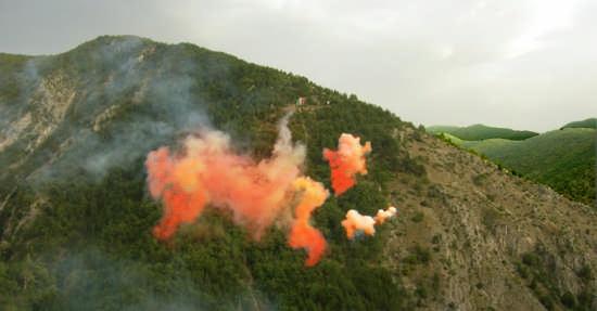 Fuochi d'artificio - PACENTRO - inserita il 19-Sep-08