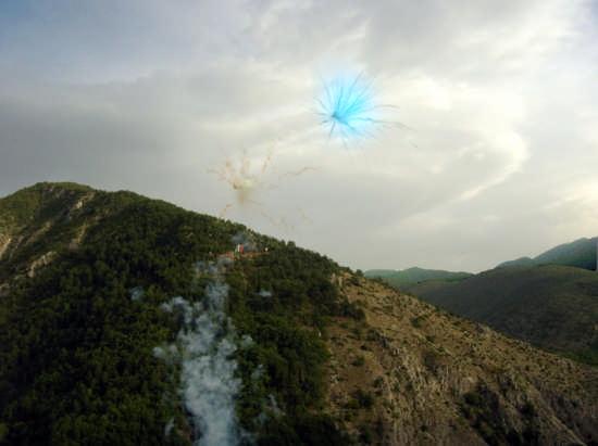 Fuochi d'artificio - Pacentro (2726 clic)