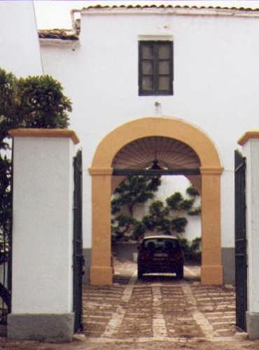 L'ingresso della villa. - Partinico (6916 clic)