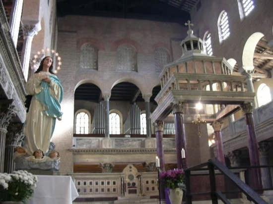 Basilica di San Lorenzo. - Roma (2594 clic)