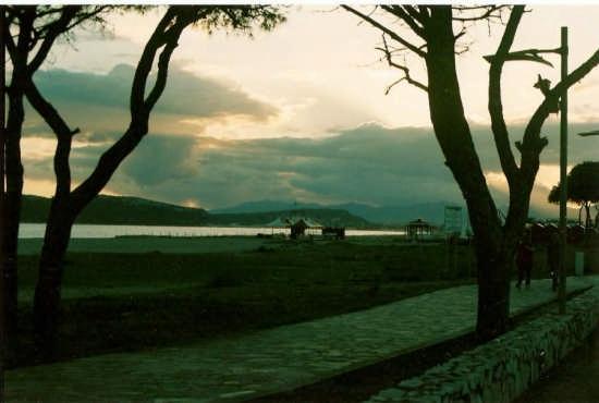 tramonto sul poetto - Cagliari (1881 clic)