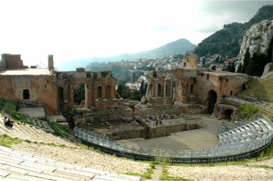 Teatro Greco - Taormina (3615 clic)