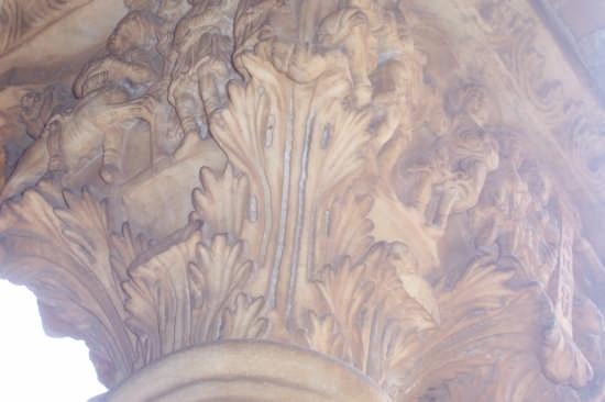 capitello dell'esterno della cattedrale  - Monreale (2820 clic)