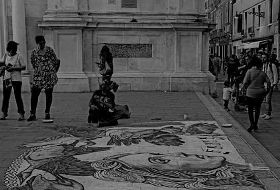 Artista di strada  - Venezia (477 clic)