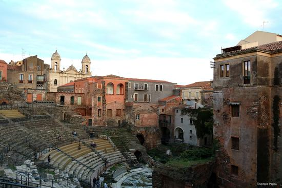 Teatro greco  - Catania (382 clic)
