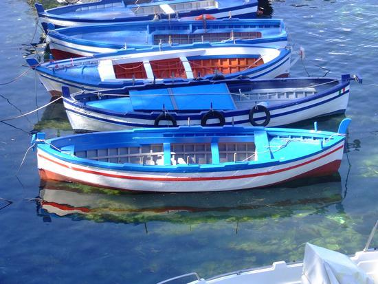 Barche al porto di Ognina - Catania (3719 clic)