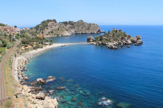 Isola bella - Taormina (1827 clic)