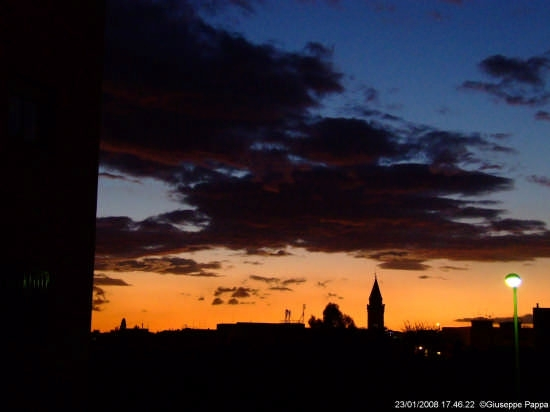 Tramonto - Mascalucia (2869 clic)