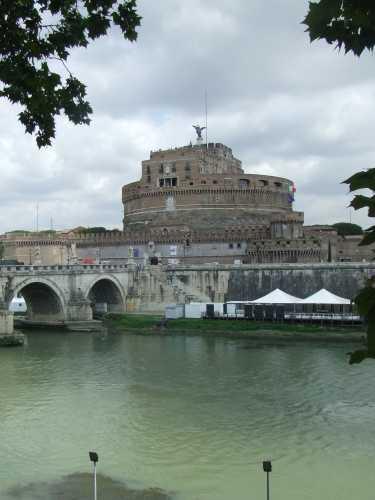 Castel S.Angelo - Roma (1990 clic)