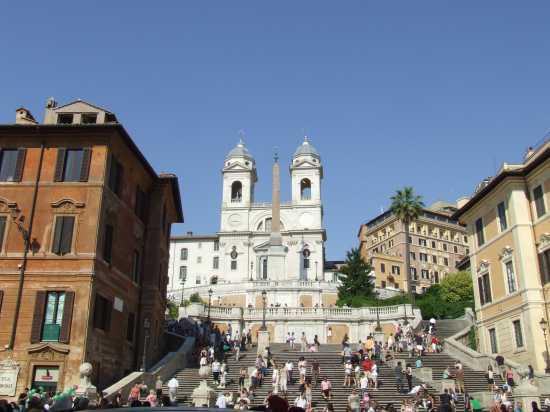 Piazza di Spagna - Roma (2000 clic)