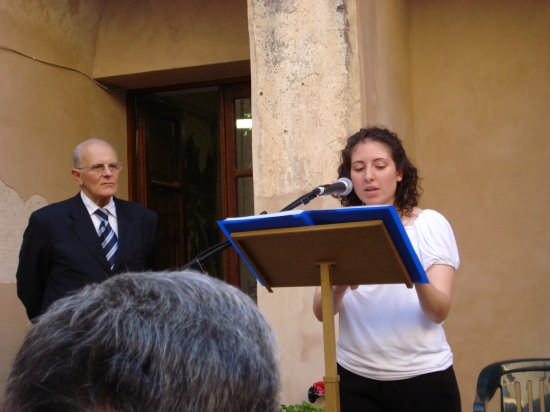 Una voce per la poesia - Castelbuono (3811 clic)