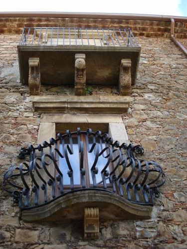 Particolare del Palazzo Portera - Mistretta (4636 clic)