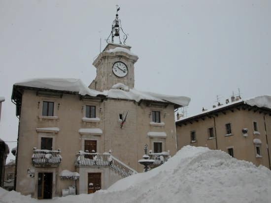 Palazzo comunale di Pescocostanzo (3775 clic)