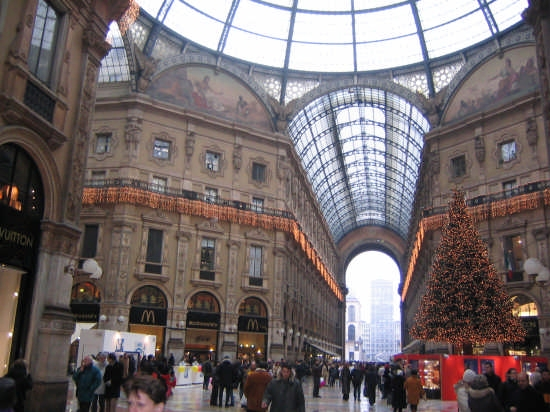 la galleria vittorio emanuele II - Milano (4901 clic)