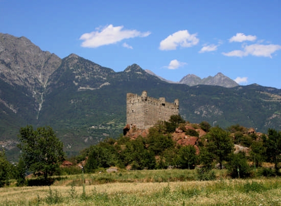 vista del castello - Chatillon (7848 clic)