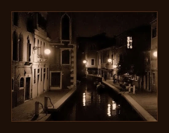 Notturno - Venezia (1638 clic)