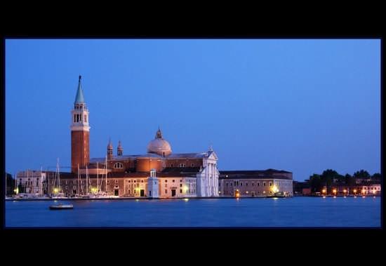 San Giorgio al tramonto - Venezia (6636 clic)