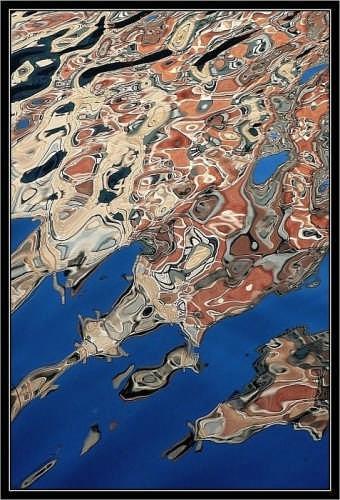Murrine - riflessi - Venezia (1948 clic)