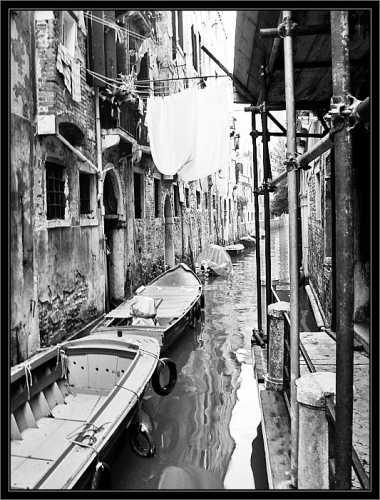 Canale - Venezia (1969 clic)
