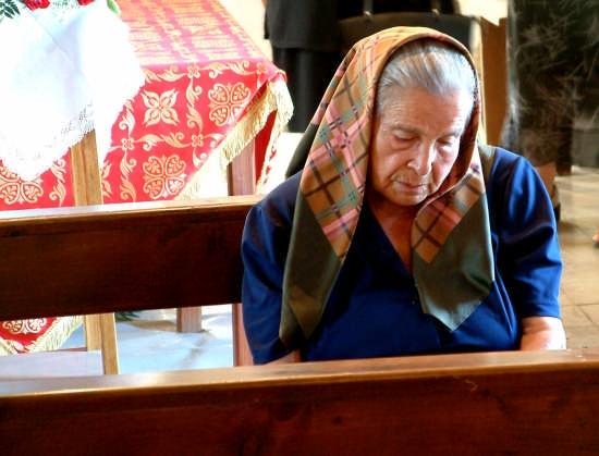 preghiera in solitudine | CABRAS | Fotografia di alberto bayre