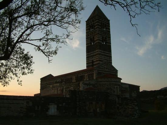 basilica di saccargia tramonto - Ploaghe (2769 clic)