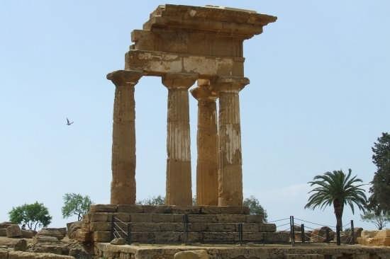 Tempio di castore e polluce - Agrigento (3040 clic)