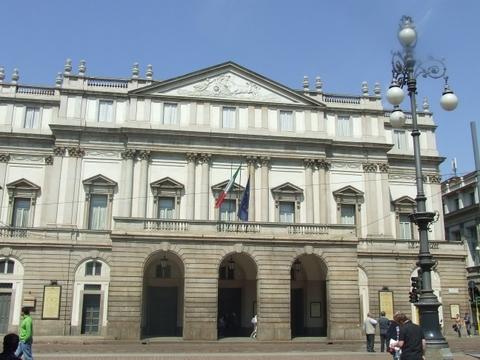 la Scala di Milano (2213 clic)