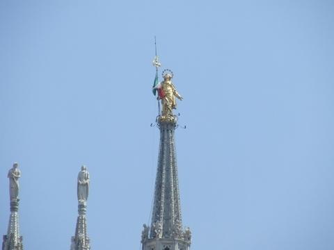 la Madunina del Duomo di Milano (2296 clic)