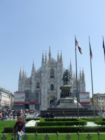 Piazza Duomo Milano (2513 clic)