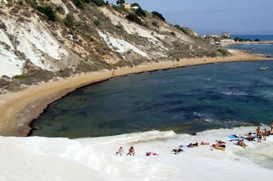 scala dei turchi:spiaggia  - Realmonte (3797 clic)