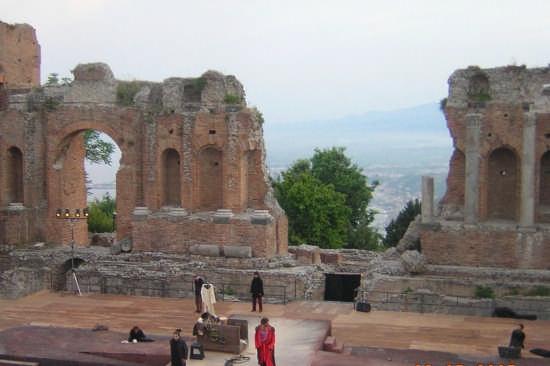 Il Teatro Antico - Taormina (6690 clic)