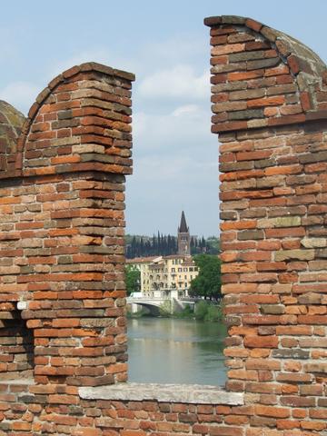 Ponte Scaligero  Verona (2771 clic)
