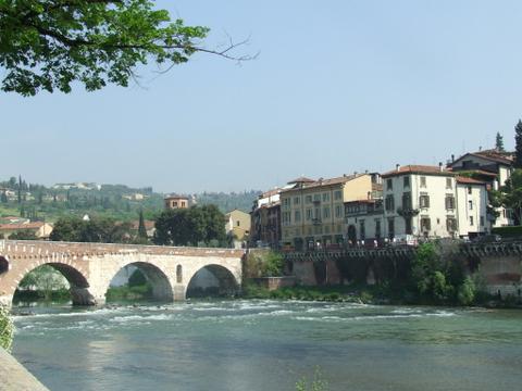 Panorama di  Verona (1986 clic)
