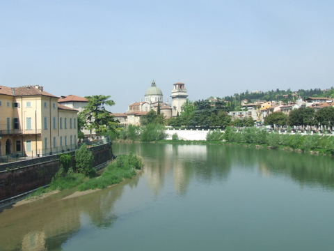 Panorama di  Verona (2431 clic)