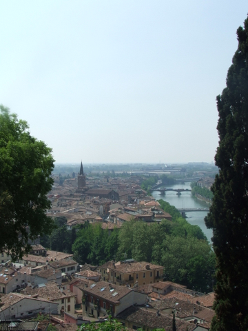 Panorama di  Verona (2099 clic)