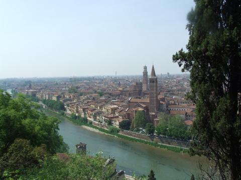 Panorama di  Verona (2775 clic)