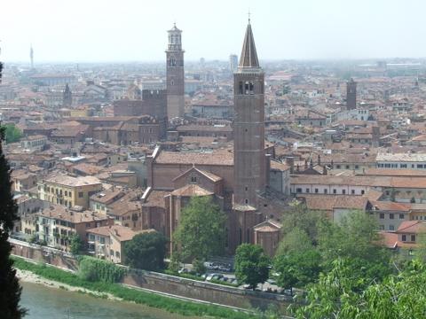 Panorama di  Verona (2565 clic)