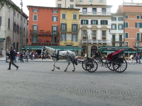 Piazza Brà  Verona (3670 clic)