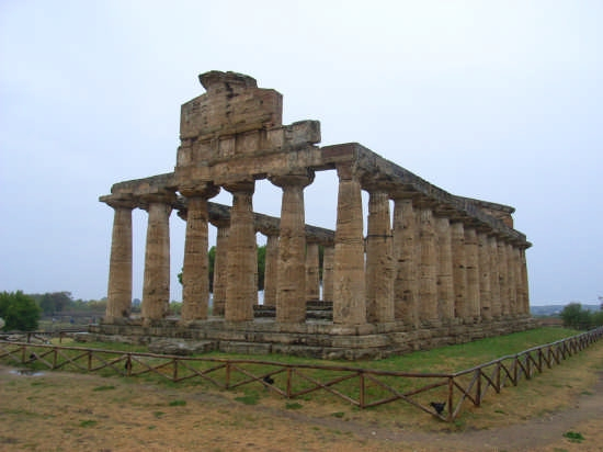 Tempio di Paestum - SALERNO - inserita il 29-Dec-07