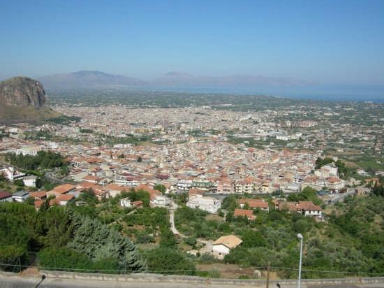 panorama sul golfo di Castellammare - Borgetto (4553 clic)