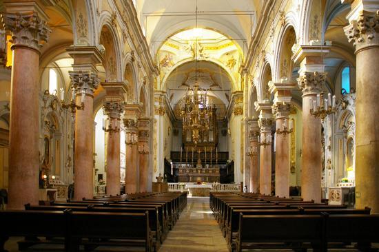 Chiesa madre di Mistretta, interno (6140 clic)