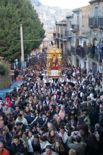 Processione di S.Sebastiano - Mistretta (4976 clic)