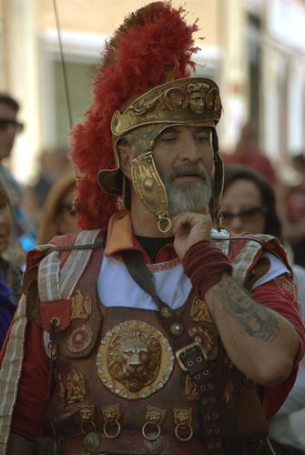 Gladiatore con tatuaggio - Roma (6047 clic)