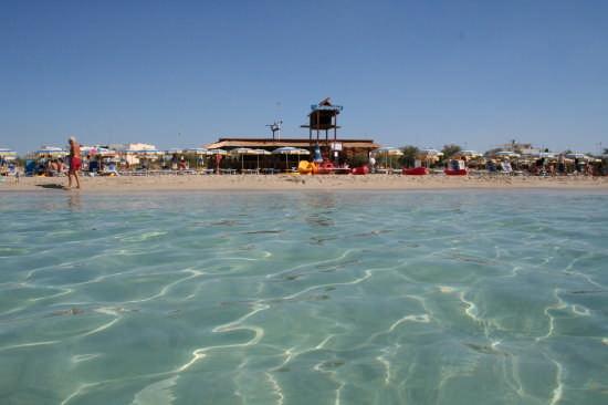 Il mare trasparente del Salento - Ugento (5073 clic)